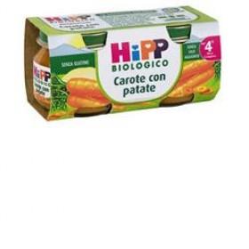 HIPP BIO HIPP BIO OMOGENEIZZATO CAROTE CON PATATE 2X80 G