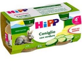 HIPP OMOGENEIZZATO CONIGLIO 80 G 2 PEZZI
