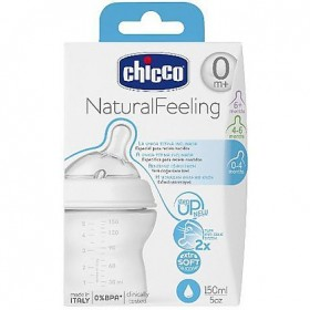 CHICCO BIBERON NATURAL FEEL 0+150 NORMALE