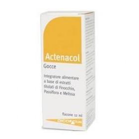 ACTENACOL GOCCE 12 ML CON MELATONINA