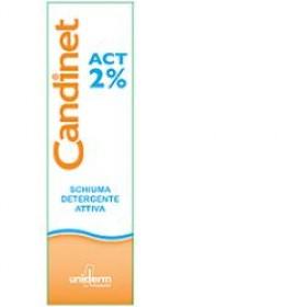 CANDINET ACT 2% SCHIUMA DETERGENTE ATTIVA 150 ML