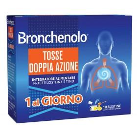 BRONCHENOLO TOSSE DOPPIA AZIONE 10 BUSTINE